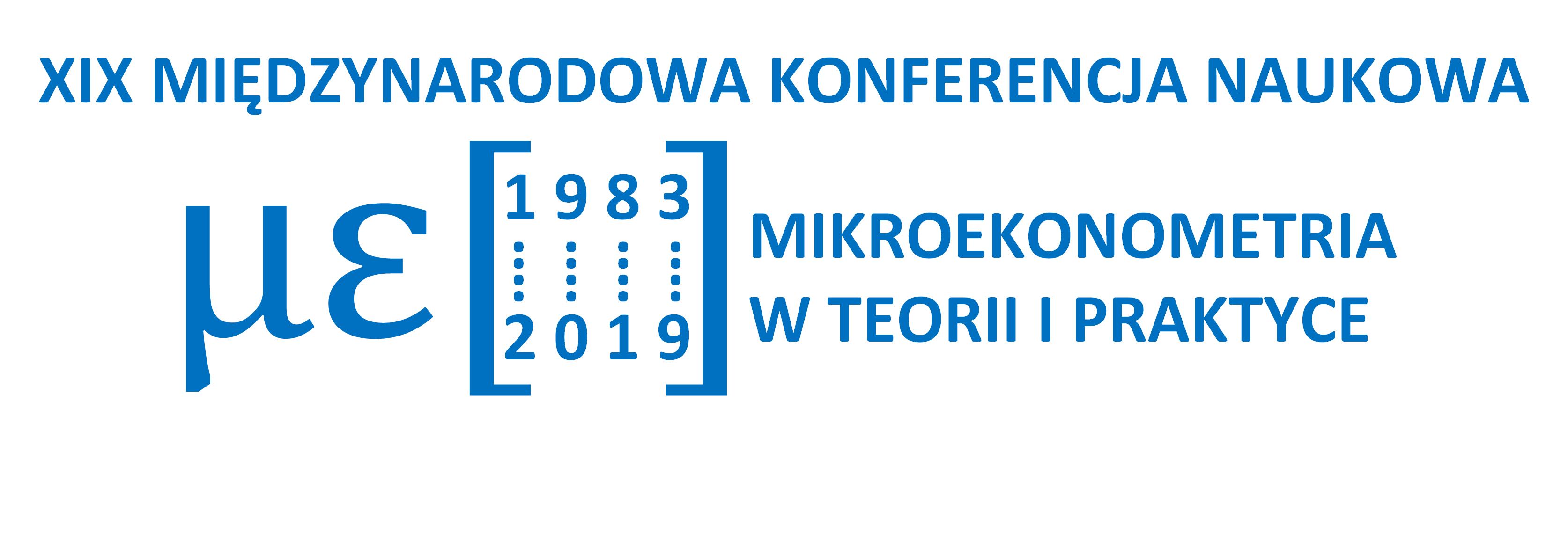 Strona konferencji Mikroekonometria w Teorii i Praktyce